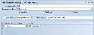 Screenshot Steps Business Solution Zahlungsbedingungen