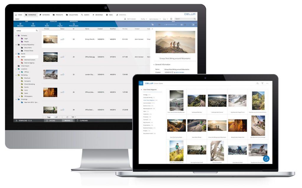 CELUM Smart Views: die neue Portal-Lösung für das Ausspielen zielgruppen-spezifischer Inhalte / Bildnachweis: CELUM